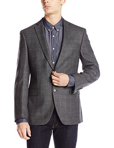 DKNY-Mens-Druce-Plaid-Two-Button-Slim-Fit-Sport-Coat