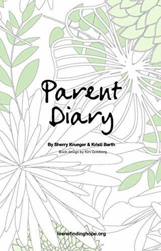 Parent Diary: Companion Book To Jared'S Journal, My Life...Is It Worth Living? front-106921