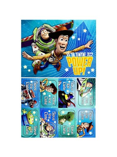 Toy Story Game Time Invitations (Set Of 6) - 1