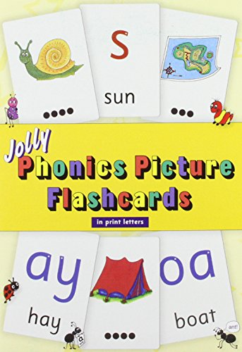 Jolly Phonics Picture Flashcards (in Print Letters), by Sue Lloyd, Sara Wernham