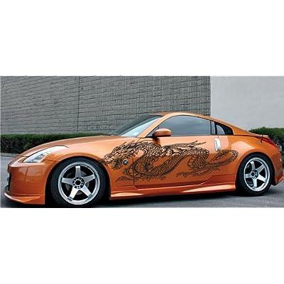 Amazon.com: CAR VINYL SIDE GRAPHICS DRAGON NISSAN 350z