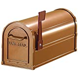 Aluminum-Heavy-Duty-Rural-Mailbox-Copper-Finish