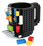 go2fionna Build-On Brick 12oz Mug Limited Edition Black
