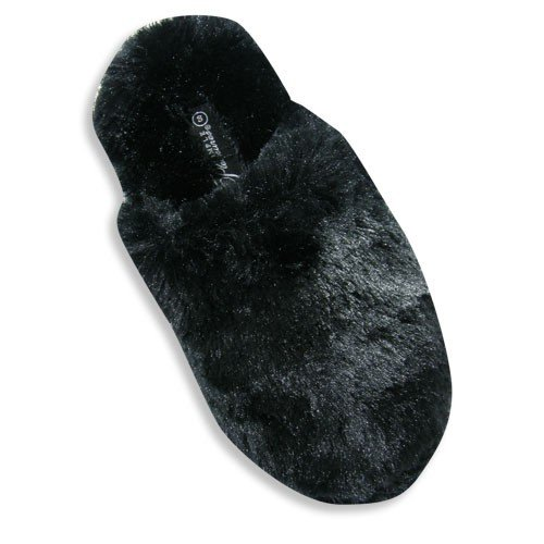 Cheap Simple Pleasures – Womens Slipper, Black 19131 (B002SCCSWG)