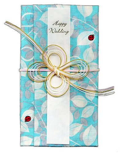 gift money envelope for a wedding made in the handkerchief