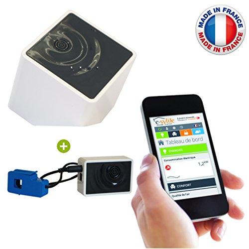 e-sylife-Sistema-per-tenere-sotto-controllo-la-casa-pacchetto-Smart-Home-Le-Kub-Modulo-Elettricit-per-smartphone