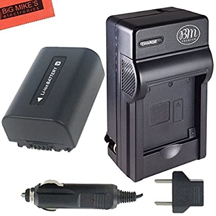 NP-FV50-Battery-And-Battery-Charger-for-Sony-HDR-CX190-HDR-CX200-HDR-CX210-HDR-CX220-HDR-CX230-HDR-CX290-HDR-CX380-HDR-CX430V-Handycam-Camcorder-+-More