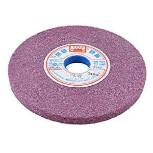 3340RPM 6 7/8x 1 1/4x 1/2Abrasives Grinding Wheel Hardware Light Purple
