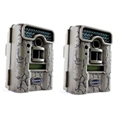 Buy PAIR of MOULTRIE Game Spy D55IRXT Digital Infrared Trail Game Hunting Cameras - 5 MP by Moultrie