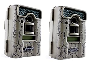 PAIR of MOULTRIE Game Spy D55IRXT Digital Infrared Trail Game Hunting Cameras - 5 MP by Moultrie