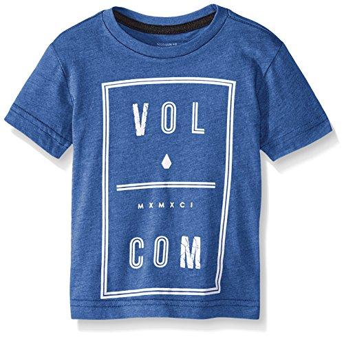Volcom Little Boys' Saturday T-Shirt, Estate Blue, 7