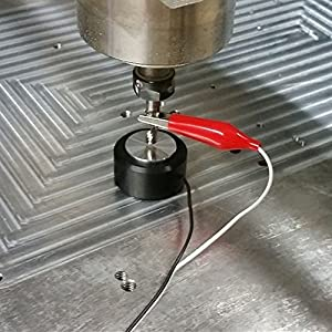 CNC Touch Plate, Z-Axis Router Tool Setting Touch Probe Mach3 CNC Router CNC Engraving Machine Auto-Check Instrument Setting Probe