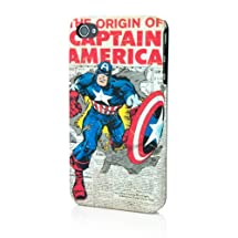 Marvel Vintage Heroes Edition Clip Case for iPhone 4 - Captain America