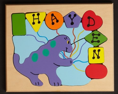 Cheap You Name It Toys Personalized Dino Shapes Puzzle (B004X6JZSU)