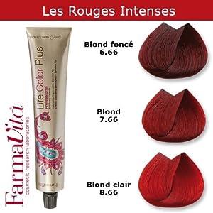 coloration cheveux farmavita tons rouges intenses blond fonc rouge intense 6 rs. Black Bedroom Furniture Sets. Home Design Ideas