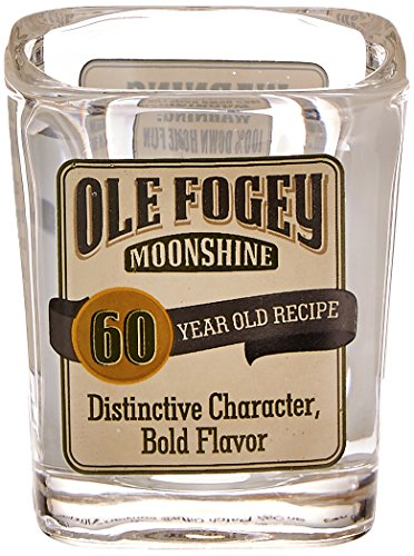 Laid Back CF1311 60th Birthday Ole Fogey Shot Glass, 2-Ounce