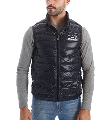 Gilet Armani EA7 Down jacket uomo 8NPQ01 PN29Z 1200 nero - S