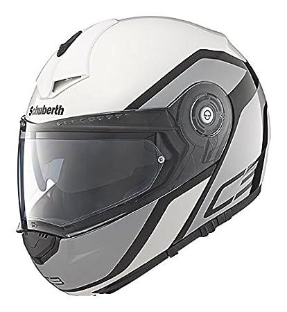 Schuberth C3 observateur Pro casque de moto blanc