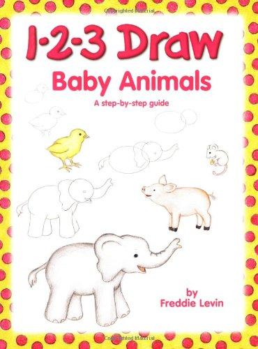 1-2-3 Draw Baby Animals