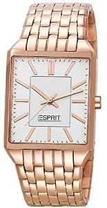 Esprit Damen-Armbanduhr Alameda Rose Gold Analog Quarz Edelstahl ES104652007