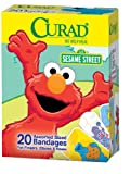 Curad Childrens Bandages, Sesame Street, 20 ct