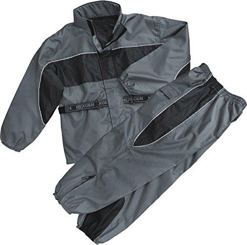 NexGen Men's Rain Suit (Black/Grey, 5X-Large) (Rain Suit 5xl compare prices)