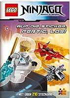 LEGO Ninjago. Auf die Sticker, fertig, los!: Mit über 210 Stickern!