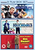 3 Film Box Set: Grown Ups / Big Daddy / Role Models [DVD]