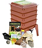Worm Factory 360 Composting Worm Bin, Terracotta