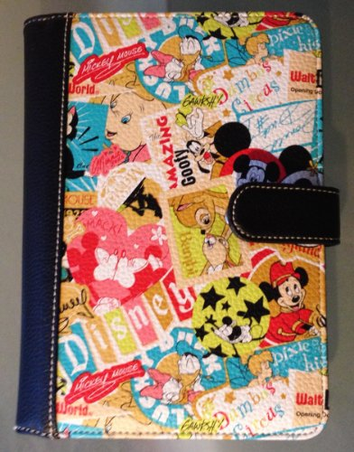 Disney Parks Mickey Mouse Collage Pattern Electronic Reader Case NEW (Disney Electronic Accessories compare prices)