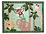 NoJo Jungle Babies Rectangular Rug