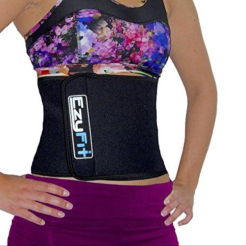 EzyFit-Waist-Trimmer-Ab-Belt-Slimmer-Stomach-Abs-Tightener-Weight-Loss-Sweat-Back-Posture-Support-Body-Wrap-Belly-Fat-Burning-Sauna-Adjustable-Velcro-Binder