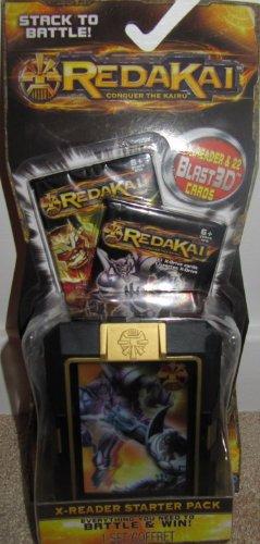 REDAKI X-Reader Starter Pack - Includes X Reader and 22 Blast 3D Cards (styles Vary) (Redakai Starter Pack compare prices)