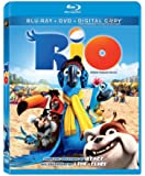 Rio [Blu-ray + DVD + Digital Copy] (Bilingual)