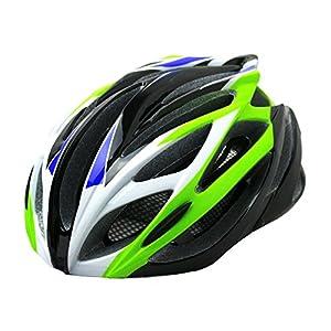 DABADA(ダバダ) 軽量 ヘルメット アジャスター付き (グリーン/ブラック)