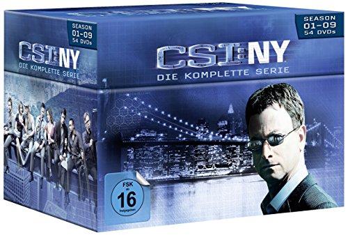 CSI: NY - Die komplette Serie [54 DVDs]