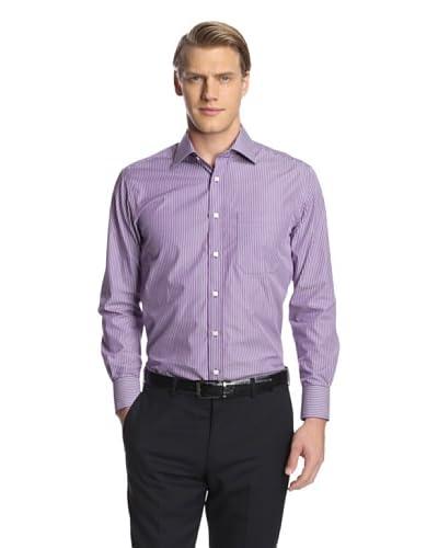 Giorgio Valentini Men's Stripe Dress Shirt