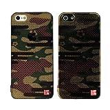 SP893 iPhone5s iPhone5 和柄 和風 カモフラ柄 ケース 和彩美「和隠」堅装飾カバー:透し 隠れ雲取り〈迷彩〉