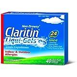 Claritin Allergy Liqui-Gels 10mg, 40-Capsules