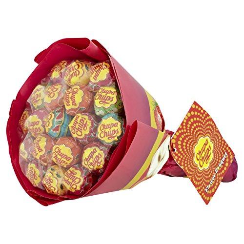 Chupa Chups Lollipop Flower Bouquet - Confezione da 19 Pezzi