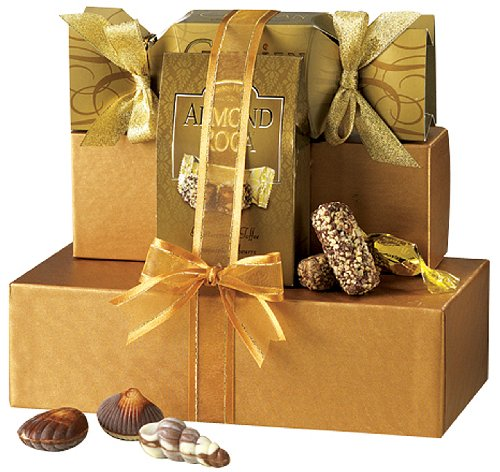 Image of Broadway Basketeers Chocolate Heaven Gourmet Chocolate Gift Tower