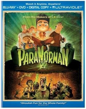 ParaNorman LIMITED EDITION Two-Disc Combo Pack / Blu-ray / DVD / Digital Copy UltraViolet INCLUDES 3 Collectible Mini-Posters