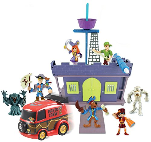 Scooby Doo Pirate Fort and Action Figure 7 Pack
