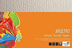 Brustro Artists' Acrylic Papers 400 GSM 7