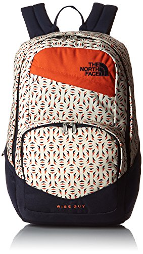The North Face Zaino Unisex Wise Guy, 45 x 33 x 32 cm, 27 litri, CHH9, Unisex, Rucksack Wise Guy, Orange Rust Tribal Tribute Print, 45 x 33 x 32 cm, 27 Liter