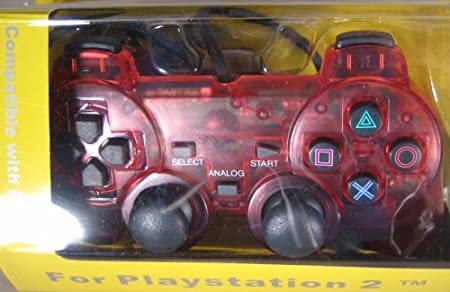 PS2 CONTOLLER RED
