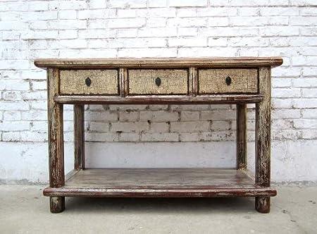 China pequeñas puertas armario mesa escritorio pintada de madera de pino
