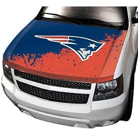 NFL New England Patriots Auto Hood Cover