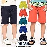 (ディラッシュ) DILASH初夏'16 ヴィンテージ風綿麻キャンバスハーフパンツ 100 ネイビー ランキングお取り寄せ