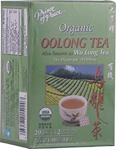 Prince of Peace Premium Oolong Tea with 100 Tea Bags - 3 Pack